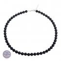 Naszyjnik z czarną perłą Swarovski