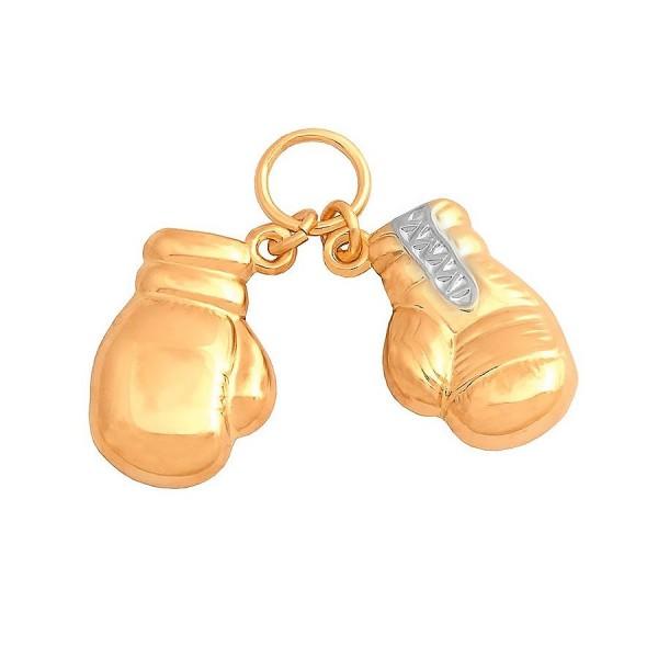 Złota przywieszka - rękawice bokserskie