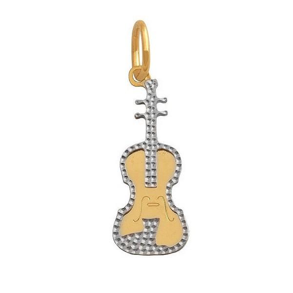 Złota przywieszka - gitara