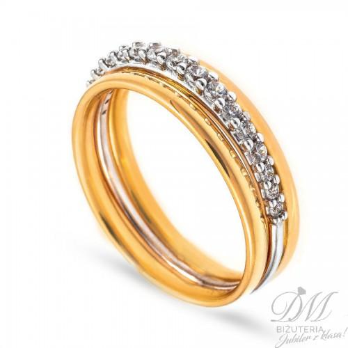 Okazały pierścionek z cyrkoniami