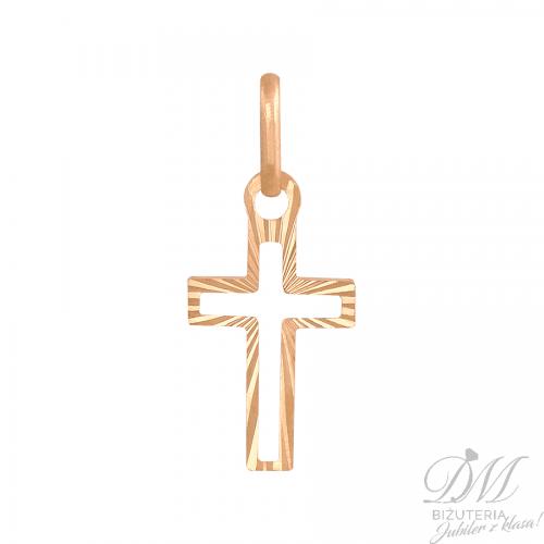 Złoty Krzyżyk o nowoczesnej formie