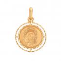 Medalik z wizerunkiem Matki Boskiej z Dzieciątkiem