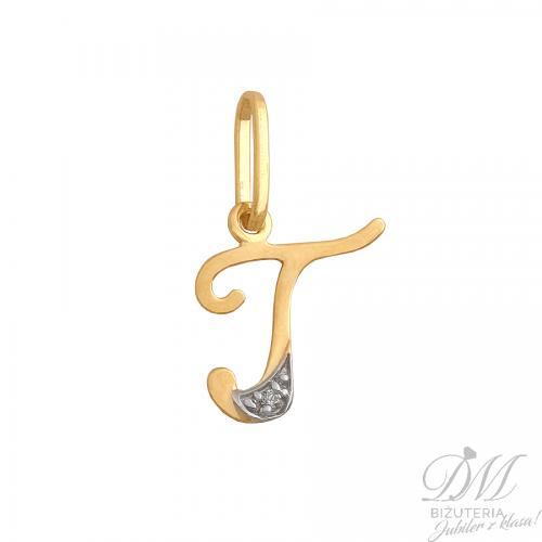 "Złota literka ""T"""