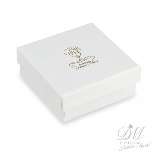 Pudełeczko na biżuterię Pierwsza Komunia Święta