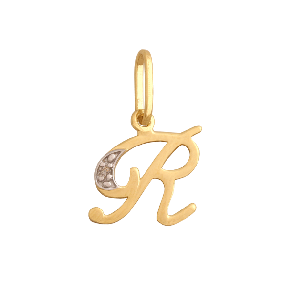 "Złota literka ""R"""