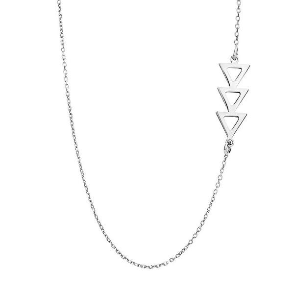 Delikatny srebrny naszyjnik z choinką