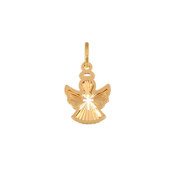 Złota przywieszka - aniołek