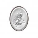 Obrazek srebrny Aniołek klęczący