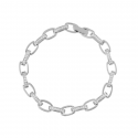 Bransoleta z drobnymi cyrkoniami srebro