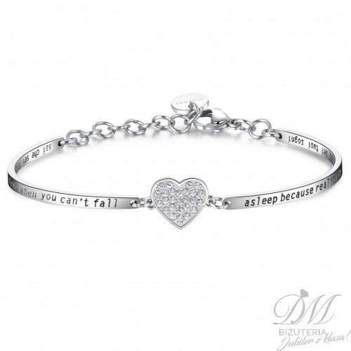 Piękna pozłacana bransoleta z kryształami Chakra