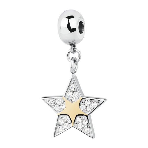 Zawieszka Charms gwiazdka ze złotem nowość