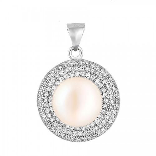Piękna przywieszka z perłą