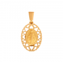 Cudowny Medalik z ażurkiem złoty Komunia Święta