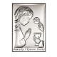 Obrazek srebrny na I Komunię nowość