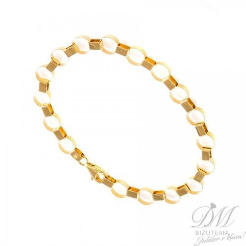 Oryginalna złota bransoleta