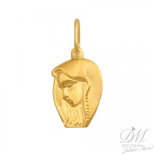 Piękny medalik - wizerunek Matki Boskiej