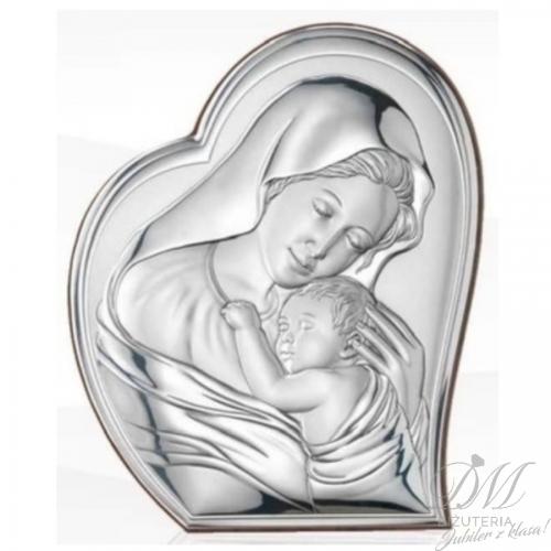 Obrazek srebrny Madonna