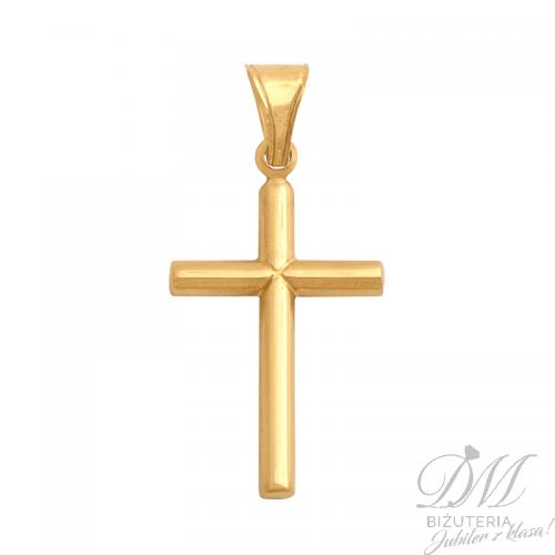 Klasyczny złoty Krzyżyk