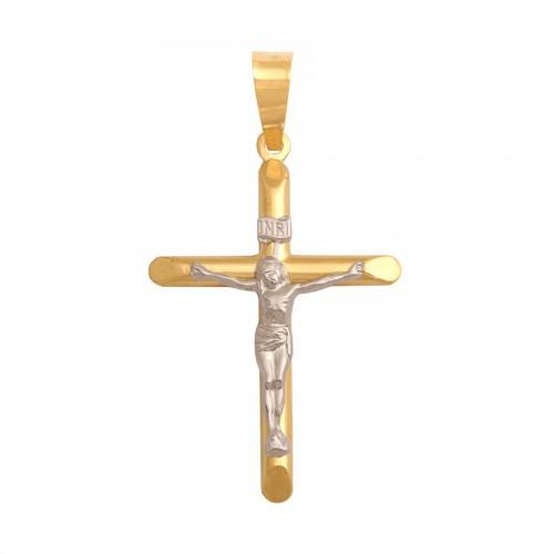 Złoty Krzyż z wizerunkiem Chrystusa