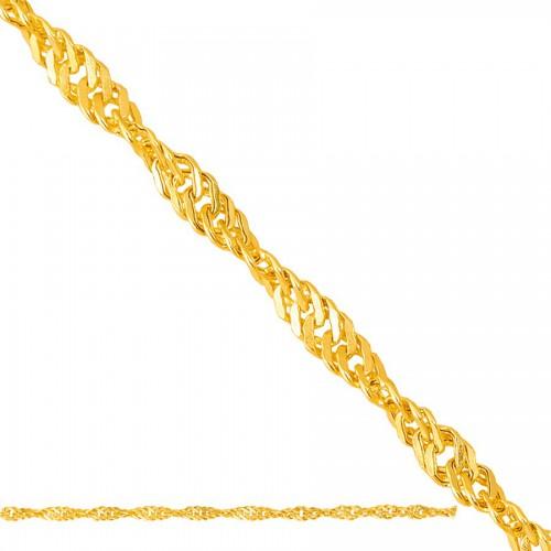 Złoty łańcuszek - singapur