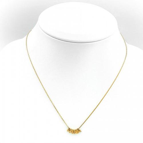 Wyjątkowy złoty naszyjnik z imieniem Nina