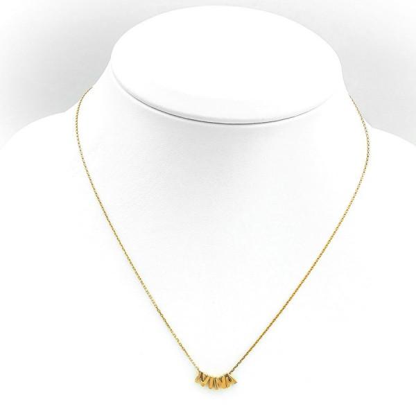 Wyjątkowy złoty naszyjnik z imieniem