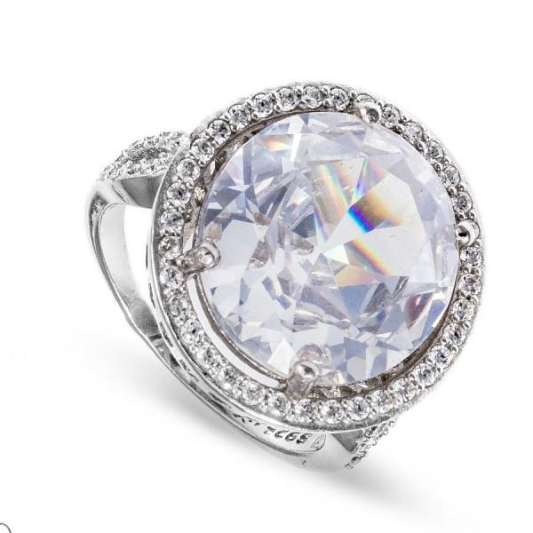 Niepowtarzalny srebrny pierścionek