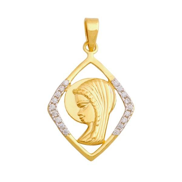 Wyjątkowy medalik z wizerunkiem Matki Boskiej