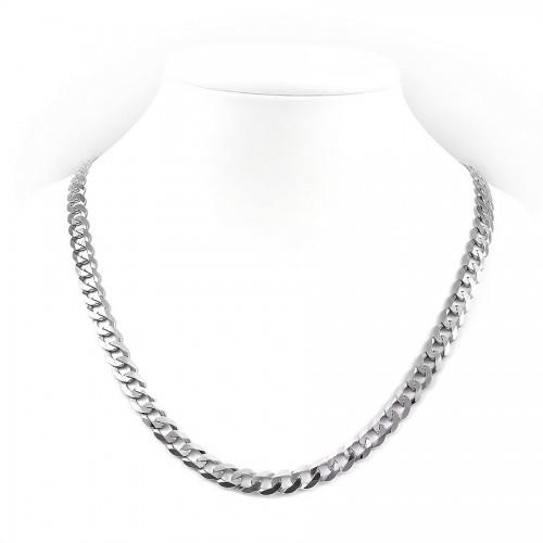 Srebrny łańcuszek - pancerka