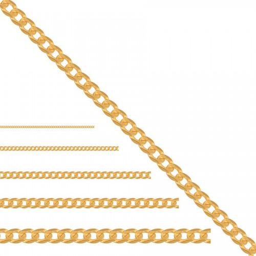 Złoty łańcuszek - pancerka próba 333